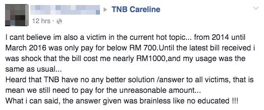 If Your Electricity Bill Is Higher Than Usual, It's Not TNB's Fault